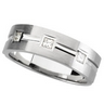 Mens .2 CTW Diamond Tapered Band 7mm Width Ref 955920