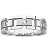 Mens .17 CTW Diamond Tapered Band 7mm Width Ref 565136