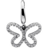 .2 CTW Diamond Butterfly Charm Ref 269338