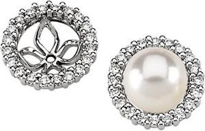 Pearl Earring Jackets 63 Ctw Ref 273736