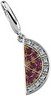 Genuine Pink Sapphire and Diamond Watermelon Charm .03 CTW Ref 598132
