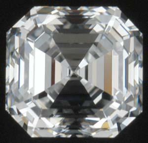 Asscher Cut Diamond (Pronounced ash-er)