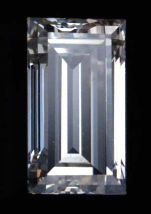 Straight Baguette Cut Diamond
