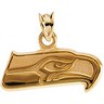 Seattle Seahawks NFL Logo Pendant 8 x 19.25mm Ref 797093