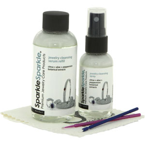 Sparkle Sparkle Everyday Jewelry Cleaning Set Ref 307325
