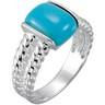 Genuine Chinese Turquoise Ring Ref 479488