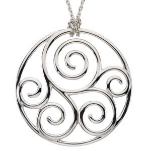 Scroll Fashion Pendant Ref 995603