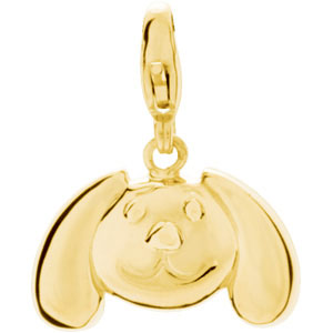 Charming Animals  Floppy Ear Dog Charm Ref 933014
