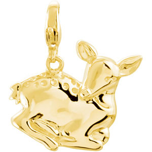 Charming Animals  Deer Charm Ref 674801