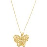 Wire Butterfly Necklace Ref 799390
