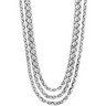 Stainless Steel Multi Strand Rolo Chain Ref 395667