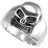 Stainless Steel Skull Ring Ref 712332