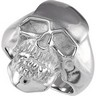 Stainless Steel Skull Ring Ref 616523