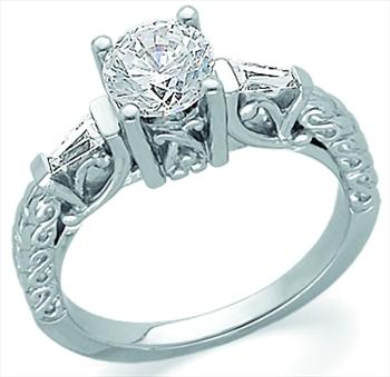 ring rings for platinum center on diamonds diamond side with each round radiant and halo engagement