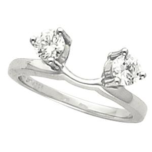 Platinum Ring Wraps Enhancers And Guards