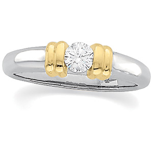 Diamond Solitaire Engagement Ring | 1/2 Carat