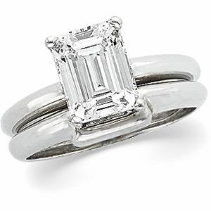 1 carat emerald cut diamond  eBay