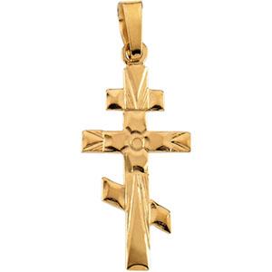 St andrew orthodox cross pendant ref 850733 stuller r4056 st andrew orthodox cross pendant ref 850733 aloadofball Gallery