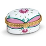 Oval Porcelain Hinged Box Ref 714455