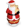 Santa Claus Shaped Porcelain Hinged Box Ref 132346
