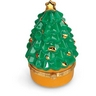 Christmas Tree Shaped Porcelain Hinged Box Ref 559416