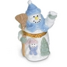 Snowman Shaped Porcelain Hinged Box Ref 409523