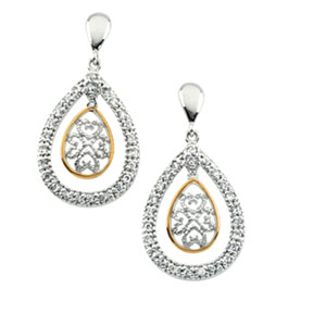 Tears of Joy  Earrings 22 x 16mm Ref 798517