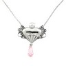 Angel of Hope  (Breast Cancer Awareness) Pendant 30.75 x 25.5mm Ref 113699