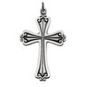 Cross Pendant 45 x 31mm Ref 466271