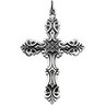 Cross Pendant 48 x 35mm Ref 422663
