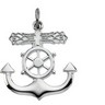 Mariners Cross Pendant 19 x 16mm Ref 482042