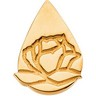 Memorial Tear  Lapel Pin 14.75 x 10.75mm Ref 942764