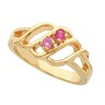 Birthstone Mothers Ring May hold up to 6 round 2.5mm gemstones Ref 227996