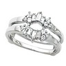 Platinum Bridal Baguette Ring Guard | SKU: 11998