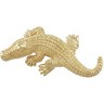 Electroform Alligator Brooch Ref 663368