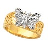 Diamond Fashion Animal Ring 9 pttw dia. Ref 774006