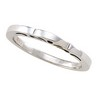 2mm Ladies  Stackable Ring Ref 707261
