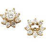 Earring Jackets | Diamond