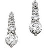 Journey Diamond Earrings 1 CTW Ref 844214