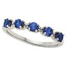 Mothers Stackable Ring May hold 5 round 3mm gemstones Ref 401560