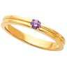 Mothers Stackable Ring May hold up to 3 round 3mm gemstones Ref 453127