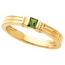 Mothers Stackable Ring May hold up to 3 princess cut gemstones Ref 314597
