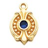 Pendant Dangle 3.5mm Center Ref 368774