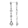 Vintage Design Quad Drop Earrings .2 CTW Ref 890628