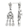Vintage Design Chandelier Earrings Ref 939728