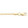 1.75mm Diamond Cut Solid Cable Chain with Lobster Clasp Ref 697496