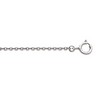 1.5mm Solid Cable Chain with Spring Ring Clasp Ref 178204