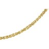 2.75mm Solid Byzantine Chain with Lobster Clasp 7 inches Ref 255979