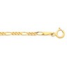 2mm Solid Figaro Chain with Spring Ring Clasp Ref 814389