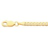 3.25mm Solid Curb Chain with Lobster Clasp Ref 927896
